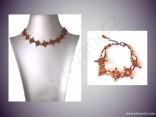 AKCE - kombinovaný náhrdelník + náramek