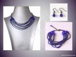 AKCE - kombinovaný náhrdelník + náramek a náušnice
