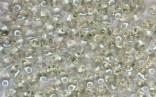 PRECIOSA Twin, dvoudirková perlička - krystal Viridian - světle zelená