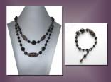AKCE - náhrdelník dvouřad + náramek