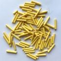 PRECIOSA čípky 15 mm - žlutý nástřik - 25 g