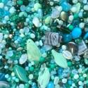 Perle - tyrkysové č. 4 - ramš 250g