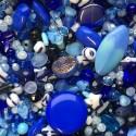 Perle - modré č. 5 - ramš 250g