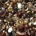 Perle - hnědé č. 3 - ramš 250g