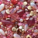 Perle - růžové č. 6 - ramš 250g
