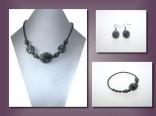 AKCE - náhrdelník + náramek + náušnice