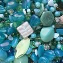 Perle - tyrkysové č. 6 - ramš 250g