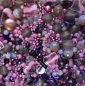 Perle - fialovo-fuchsiové č. 7 - ramš 250g