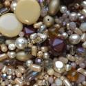 Perle - béžovo-smetanovo-hnědé č.4 - ramš 250g