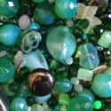 Perle - zelené č. 7 - ramš 250g