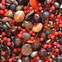 Perle - oranžovo-hnědé č. 7 - ramš 250g