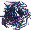 PRECIOSA čípky 35 mm - modrý iris - 25 g