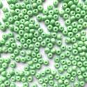 PRECIOSA rokajl 5/0 zelený solgel na křídě - 10 g