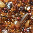 Perle - hnědé medové - ramš 250g