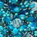 Perle - tyrkysové č. 8 - ramš 250g