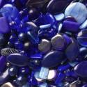 Perle - modré č. 8 - ramš 250g