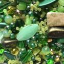Perle - zelené č. 8 - ramš 250g