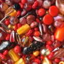 Perle - oranžové č. 7 - ramš 250g