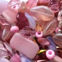 Perle - růžové č. 9 - ramš 250g