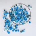 Materiál na náramek na paměťovém drátu - modrý