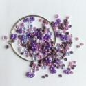 Materiál na náramek na paměťovém drátu - fialový