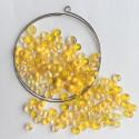 Materiál na náramek na paměťovém drátu - žlutý