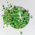 Materiál na náramek na paměťovém drátu - světle zelený