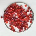 Materiál na náramek na paměťovém drátu - červený