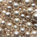 Perle - voskové smetanové č. 4 - ramš 250g