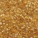 """PRECIOSA čípky 1"""" - 2,5 mm světle zlaté barvy - 50 g"""