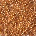 PRECIOSA rokajl 11/0 galvanický, oranžové zlato - 10 g