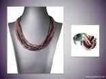 AKCE - Rokajlový náhrdelník s prstenem